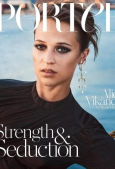 Alicia Vikander Looks Miserable on Porter's Winter 2016 Cover (Forum Buzz)