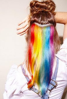 This Trick for Office-Friendly Rainbow Hair Is About to Change Your Life