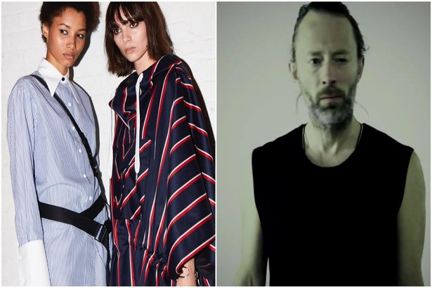 887d2af0fcc5f Radiohead s Thom Yorke Soundtracks Rag   Bone Fashion Show With New Song   Coloured Candy
