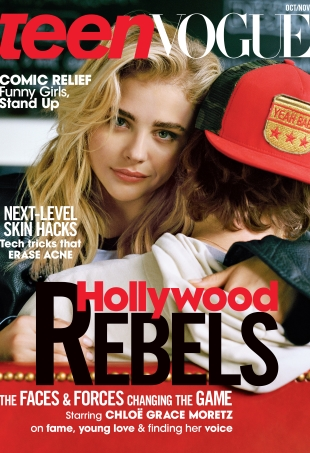Teen Vogue Oct/Nov 2016 : Chloe Grace Moretz & Brooklyn Beckham by Bruce Weber