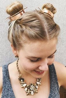 These Double Bun Hairstyles Prove Two Are Better Than One