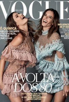 Vogue Brazil's Latest Cover Is a 'Waste of Supermodels' Isabeli Fontana and Alessandra Ambrosio (Forum Buzz)