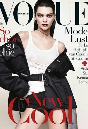 Vogue Germany October 2016 : Kendall Jenner by Luigi & Iango