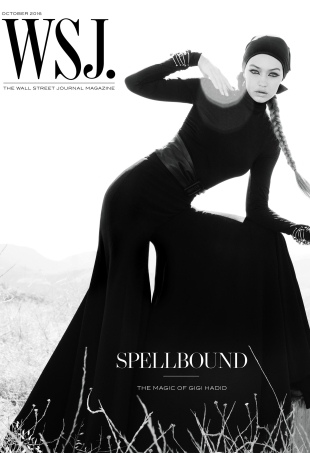 WSJ Magazine October 2016 : Gigi Hadid by Inez van Lamsweerde & Vinoodh Matadin