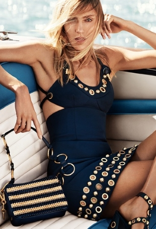 Michael Kors Collection Resort 2017 : Anja Rubik by Mario Testino