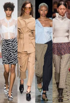 The Top 10 Most Wearable Trends From the Spring 2017 Runways