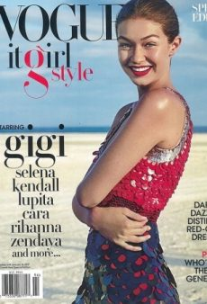 Gigi Hadid Stars on Vogue's Unnecessary 'It-Girl Style' Special Edition for Fall 2016 (Forum Buzz)