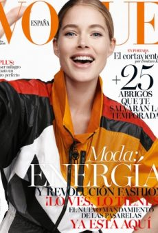 Even Doutzen Kroes Can't Save the Terrible Styling on This Vogue Spain Cover (Forum Buzz)