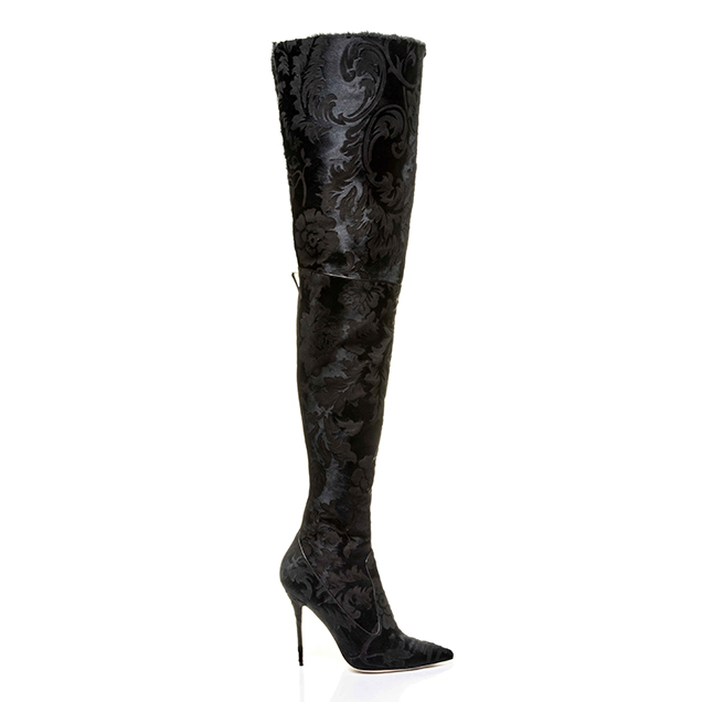Rihanna x Manolo Blahnik's Dominique Over-The-Knee Boot