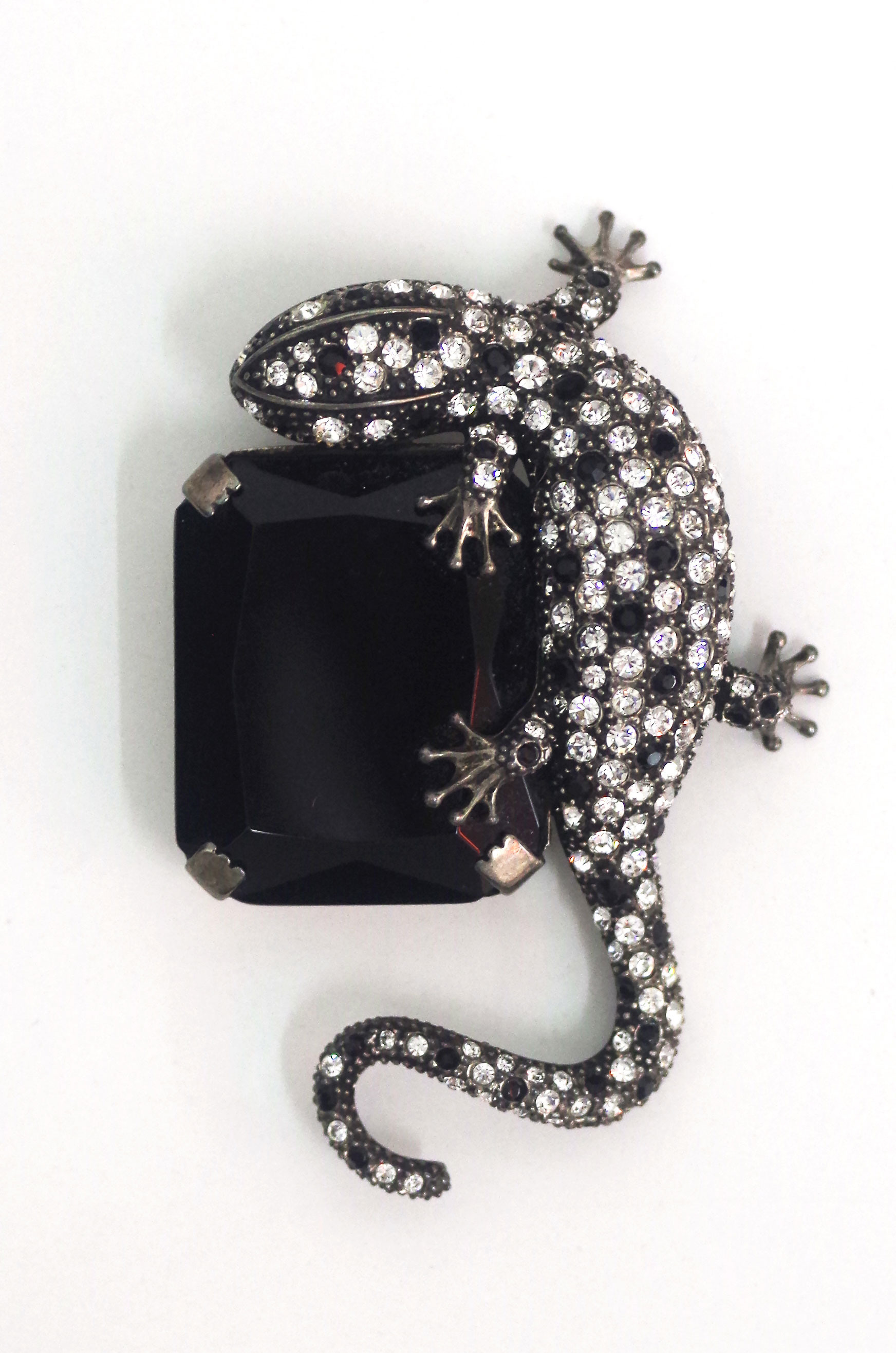 Brooch from Iris Apfel's trunk show.