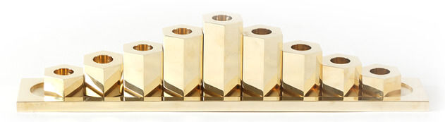 March Brass Menorah, $2,500