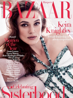UK Harper's Bazaar December 2016 : Keira Knightley by Alexi Lubomirski
