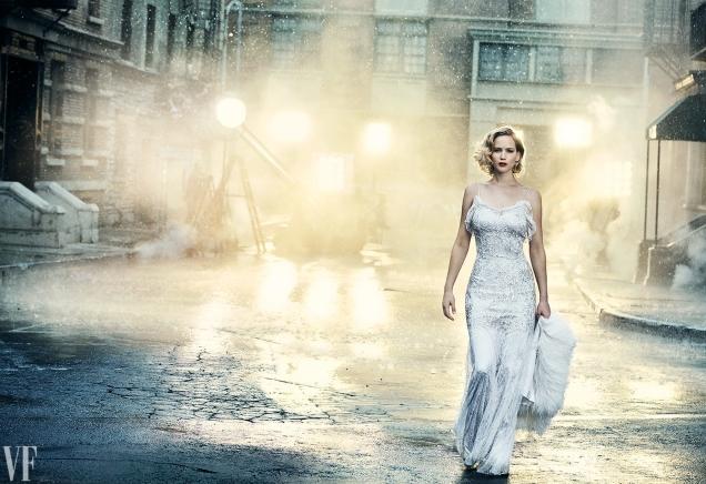 Vanity Fair Holiday 2016 : Jennifer Lawrence by Peter Lindbergh