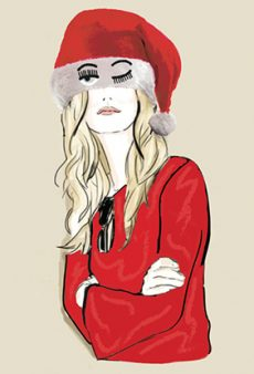 Mara Hoffman, Chiara Ferragni and More Designers Reinvent Santa's Go-To Accessory