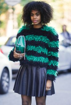 Statement Sweaters and Skirts Are December's Dynamic Duo