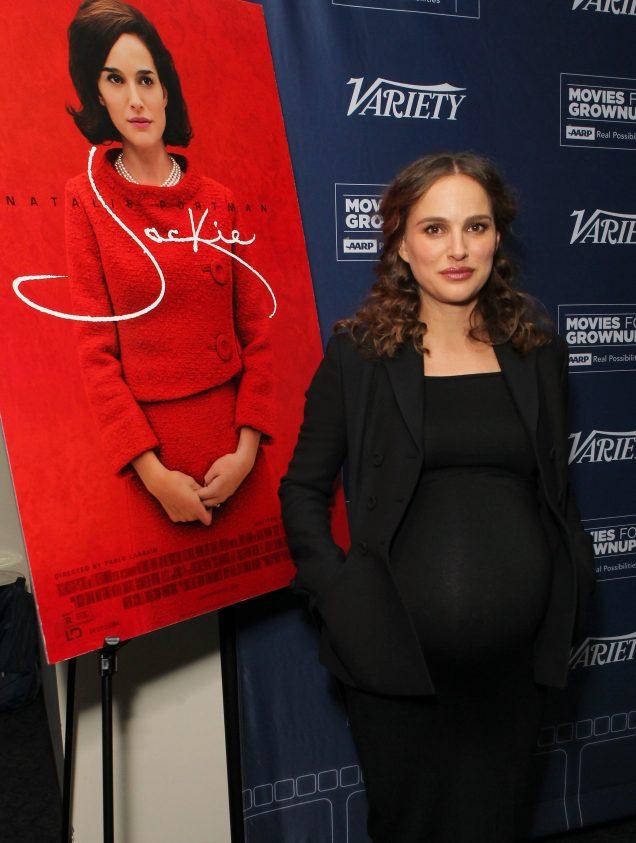 Natalie Portman at the AARP Movies for Grownups Screening Series in Los Angeles.