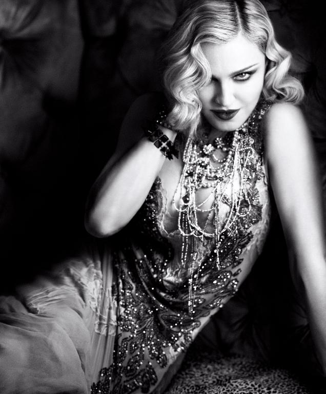 US Harper's Bazaar February 2017 : Madonna by Luigi & Iango