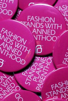 "New York Fashion Week's It Accessory Will Be a Pink ""Fashion Stands With Planned Parenthood"" Pin"