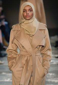 Hijab-Wearing Model Halima Aden Continues Her Fashion Month Domination