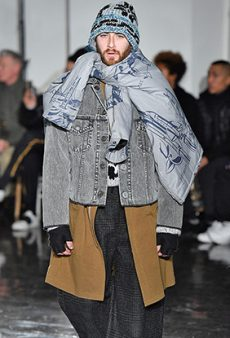 This Tone-Deaf Men's Fashion Week Show Was Entirely Inspired by 'Street People'