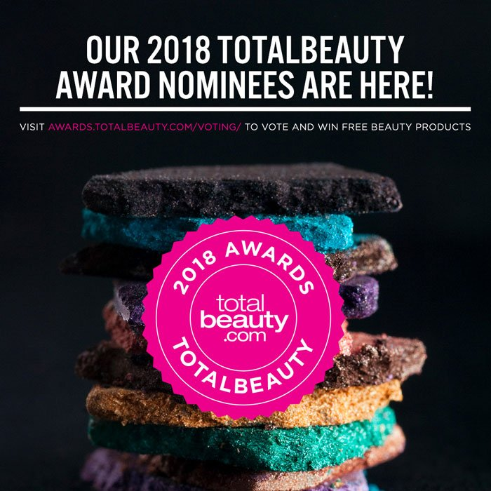Vote for the 2018 TotalBeauty Awards
