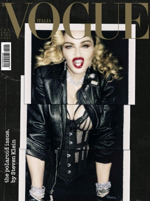 Vogue Italia February 2017 : Madonna by Steven Klein