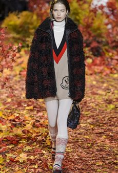 Moncler Gamme Rouge Fall 2017 Runway