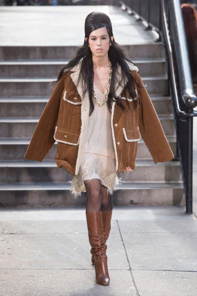 Dara at Marc Jacobs Fall 2017
