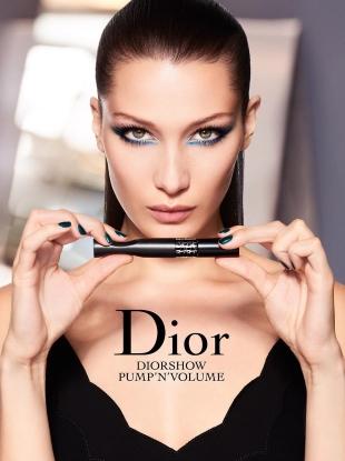 Christian Dior Cosmetics 2017 Bella Hadid Ad Campaign