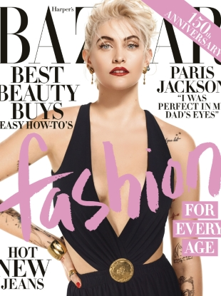US Harper's Bazaar April 2017 : Paris Jackson by Jean-Paul Goude
