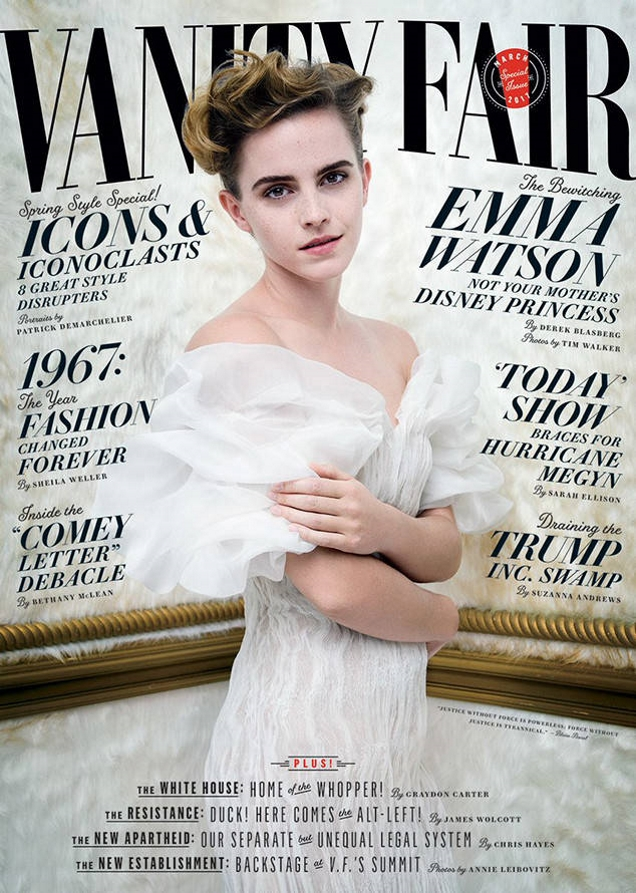Vanity Fair March 2017 : Emma Watson by Tim Walker