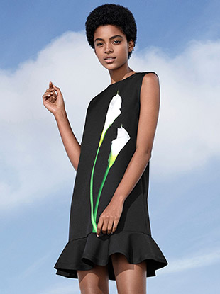 A look from the Victoria Beckham x Target collection.