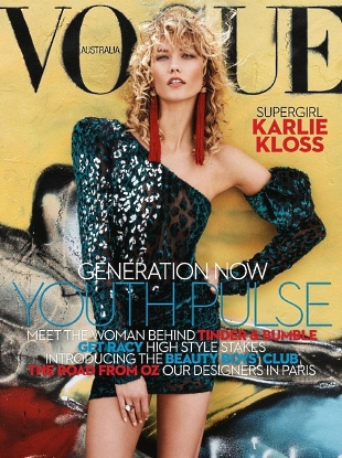 Vogue Australia April 2017 : Karlie Kloss by Benny Horne
