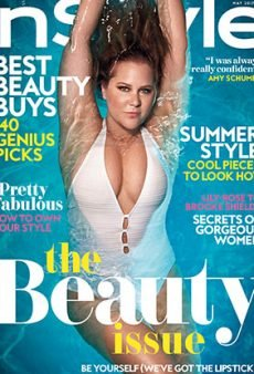 National Treasure Amy Schumer Covers InStyle's First-Ever Beauty Issue