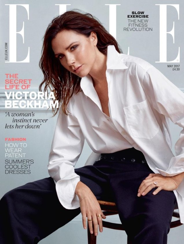 UK Elle May 2017 : Victoria Beckham by Kerry Hallihan