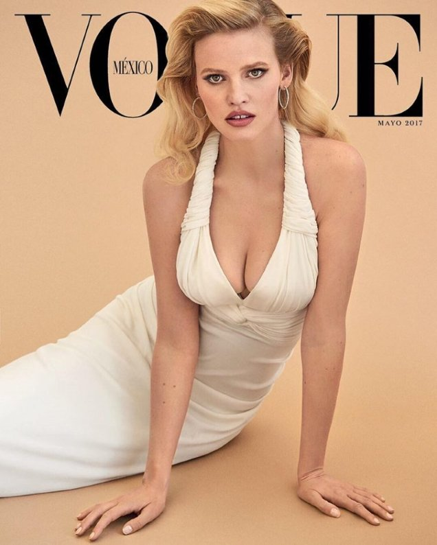Vogue Mexico & Latin America May 2017 : Lara Stone by Giampaolo Sgura