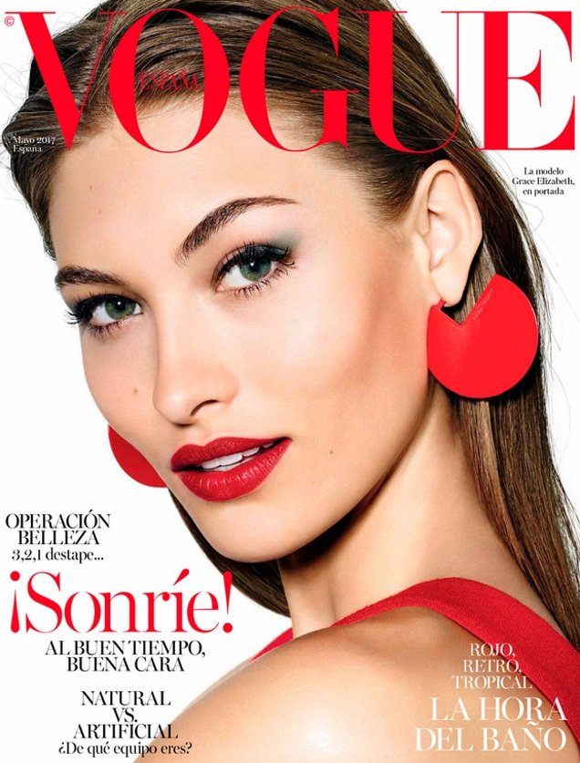 Vogue España May 2017 : Grace Elizabeth by Richard Burbridge
