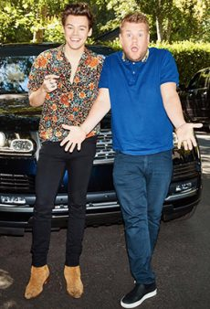Watch: Harry Styles Sings Carpool Karaoke, Proves There's Literally No Lewk He Can't Pull Off