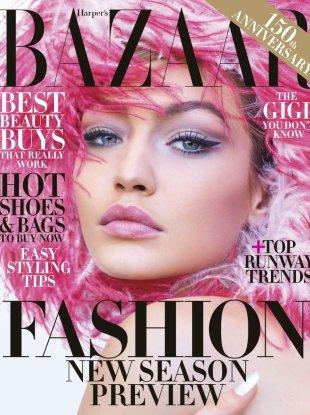 US Harper's Bazaar June/July 2017 : Gigi Hadid by Mariano Vivanco