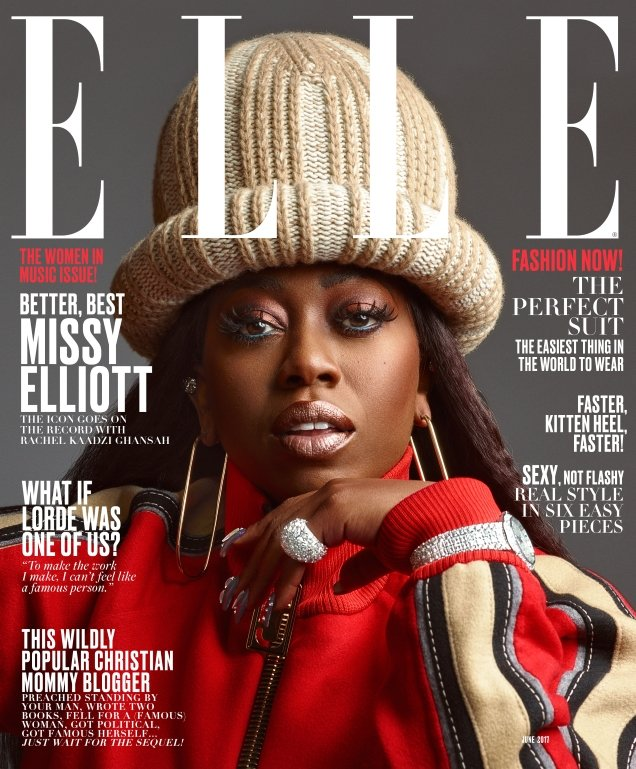 US Elle June 2017 : The Women In Music Issue by Mark Seliger