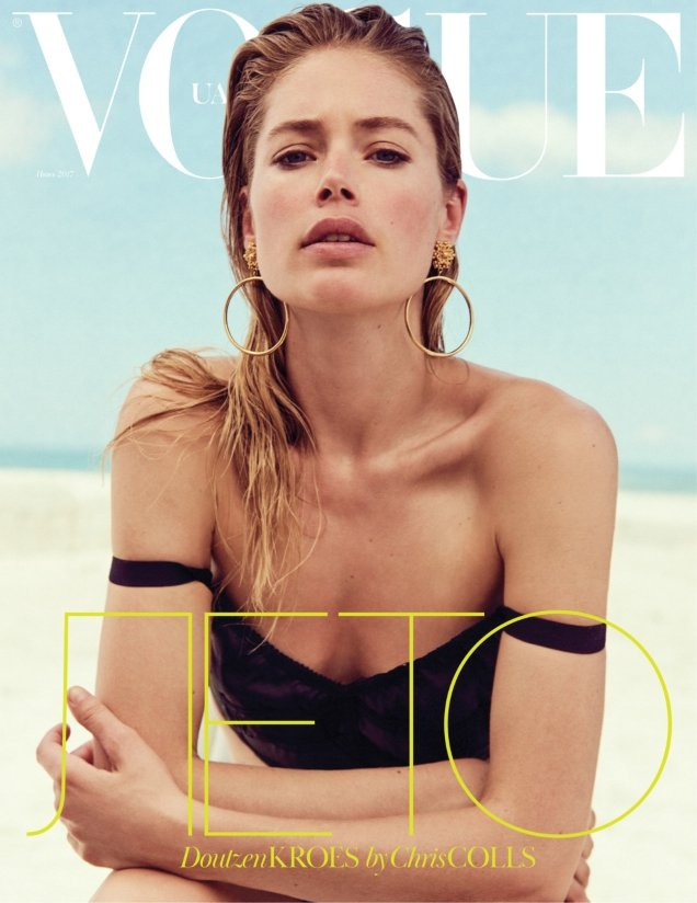 Vogue Ukraine June 2017 : Doutzen Kroes by Chris Colls