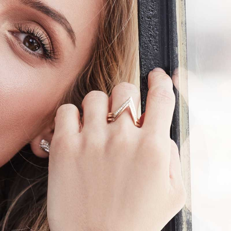 Kristin Cavallari wears her Uncommon James One and Only rings