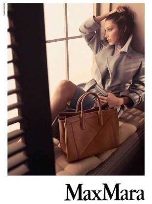 Max Mara Accessories F/W 2017.18 : Bella Hadid by Steven Meisel