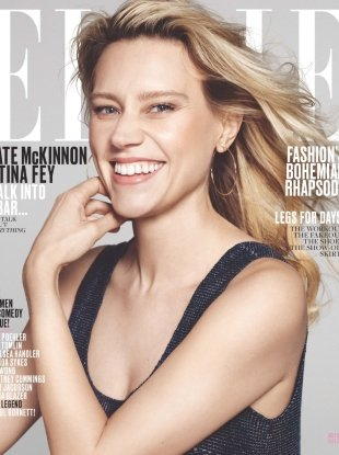 US Elle July 2017 : Kate McKinnon by Paola Kudacki