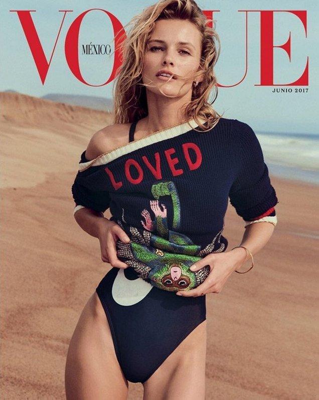 Vogue Mexico June 2017 : Edita Vilkevicute by Chris Colls