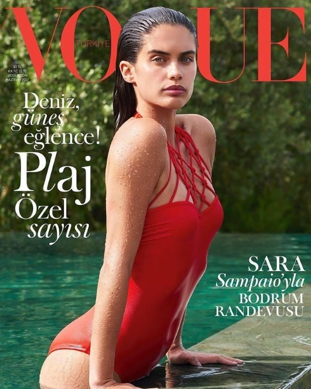 Vogue Turkey June 2017 : Sara Sampaio by Liz Collins