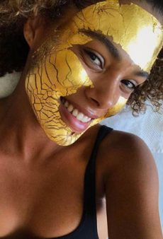 The 24K Gold Facial Top Models Swear By