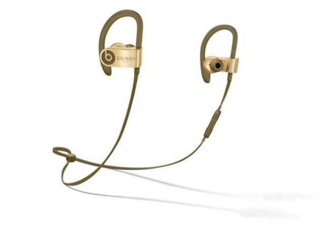 Balmain Special Edition Powerbeats3 Wireless Headphones, $249.95; Image: Balmain