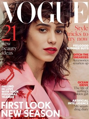 UK Vogue August 2017 : Mica Arganaraz by Craig McDean