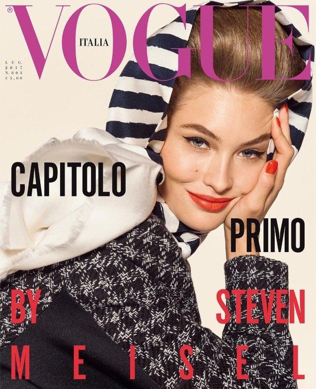 Vogue Italia July 2017 : Grace Elizabeth by Steven Meisel